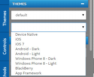 App Framework themes