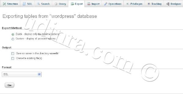 database-backup-phpmyadmin-export