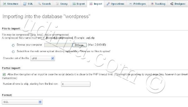 database-load-phpmyadmin-import