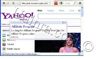 Dynamic Oxygen cursor Ad Format