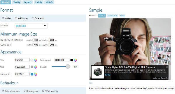 Taggify photofy make money image