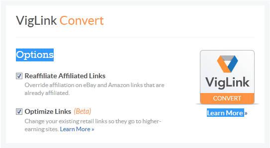 Viglink Convert
