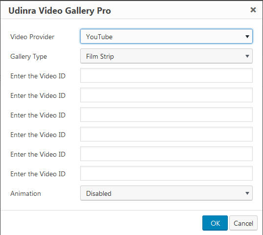 video-gallery-pro-configuration-options