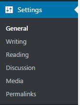 wordpress-dashboard-settings-menu