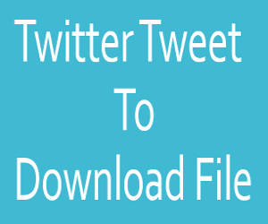 Twitter Tweet Follow download file